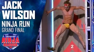 Grand Final Run (Stage 1): Jack Wilson | Australian Ninja Warrior 2017