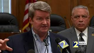 RAW VIDEO: DeKalb official gives timeline on the water main break