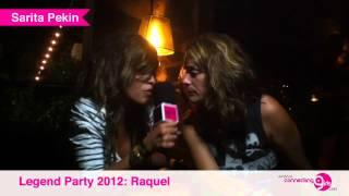 The Legend Party 2012 Entrevista a Raquel www.connectinggirls.com