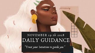 Daily Guidance🔮🌙- Trust YOUR intuition to guide you.