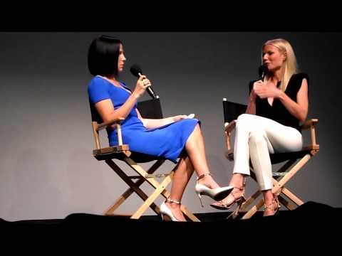 Snip-bits: Gwyneth Paltrow's interview at the Apple store in NYC
