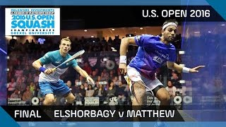 Squash: Free Game Friday - Matthew v Gawad - U.S. Open 2016
