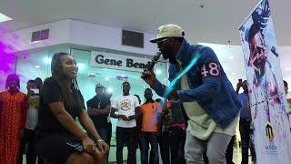 Iyanya Pop-Up At The Palms Mall In Lekki, Lagos