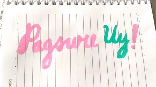 Pagsure Uy - Zhalia (OFFICIAL LYRICS VIDEO) with English Translation