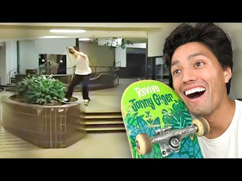 WE TURNED AN ENTIRE MALL INTO A SKATEPARK!