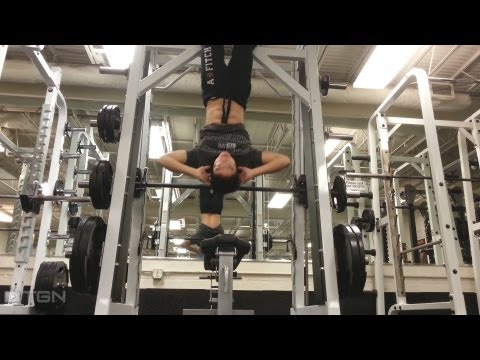 ★ Best Bodyweight Abs Workout- Inverted/ Upside Down Sit Ups (Fitness Friday/ Exercise Tips)