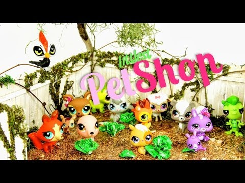 Doll Review: Littlest Pet Shop Collection Update   Plus Quick Craft: Lettuce - Doll Crafts