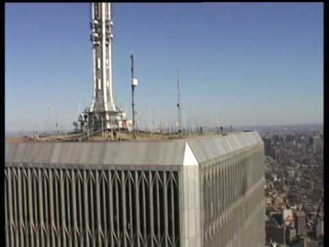 Standing on top of Twin Towers March 2000 Video