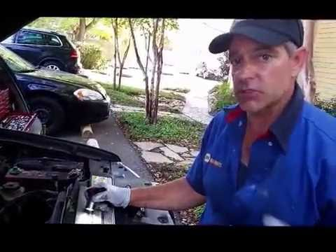 (2001 Ford Explorer) Coolant Leak Cracked Theromstat Housing ( How To video)
