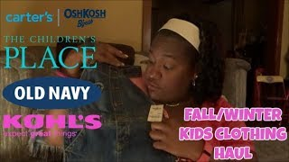 FALL/WINTER KIDS CLOTHING HAUL! 👚👖| TODDLER EDITION