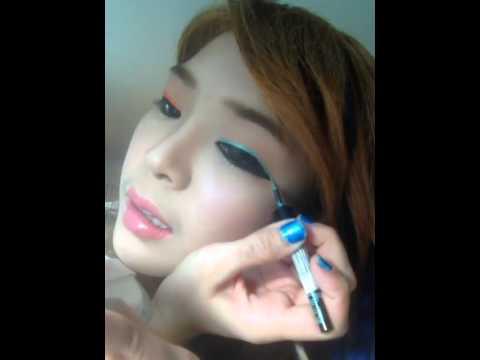หญิงแย้แต่งหน้าฤดูร้อน ig: yae_uunws