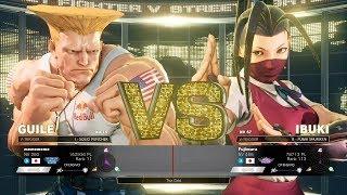SFV AE - Daigo Umehara (Guile) vs Fujimura (Ibuki)
