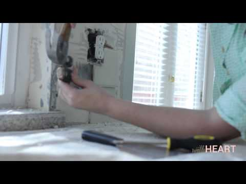 How to do a tile backsplash in kitchen