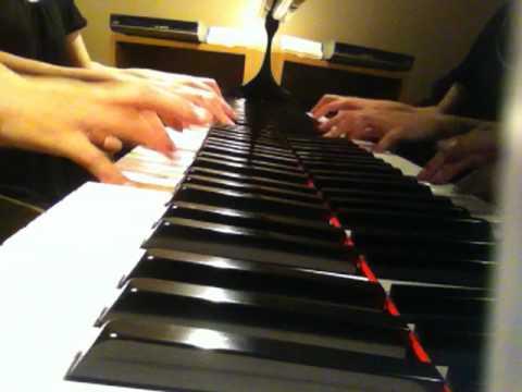 Arrivée des camionneurs Piano Duo (キャラバンの到着 ピアノ連弾)