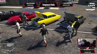 GIANT CAR SHOW AT THE SHOP | FIVEM | WILD SIDE RP