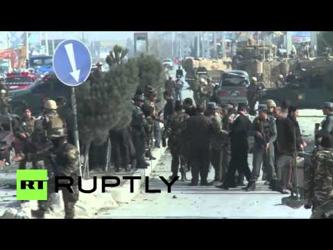Afghanistan: Kabul suicide bomber attacks British diplomatic convoy