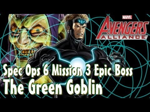 Let's play Marvel: Avengers Alliance! – Spec ops 6 – The Green Goblin