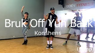 Konshens ft. Chris Brown - Bruk Off Yuh Back - Coreografia Free Dance #boradançar