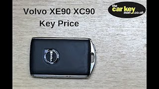 Volvo Key Fob Price XE90 XC90 Expensive Car Keys!