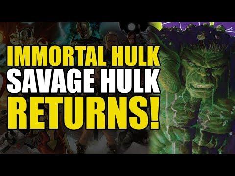 The Return Of Savage Hulk! (The Immortal Hulk Vol 1: Or is he Both?!)