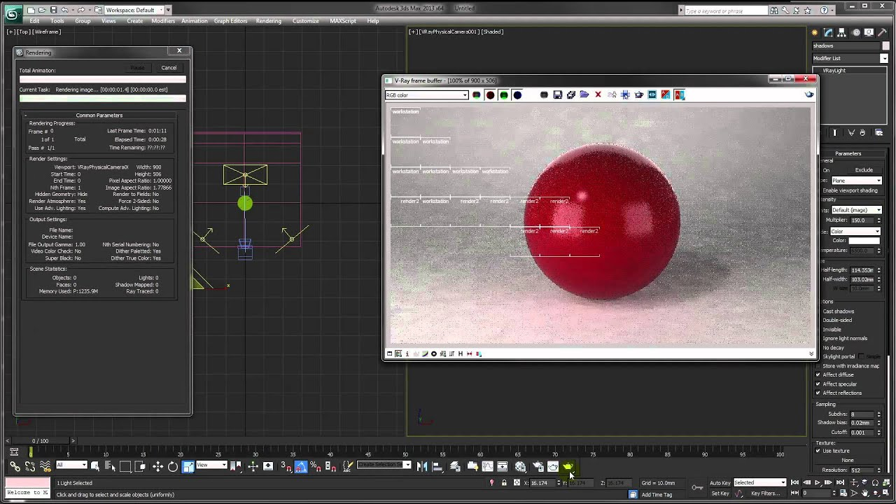 3ds max tutorial  prepare a scene for product renders