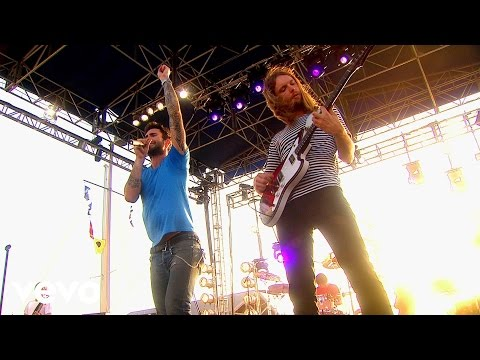 Maroon 5 - Never Gonna Leave This Bed (vevo Carnival Cruise) video