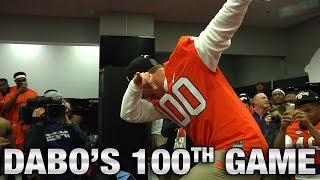 Dabo Swinney Dabs to Celebrate ACC Title and 100th Game at Clemson
