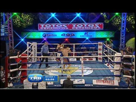 NERI ROMERO vs ESTEBAN ROCABADO - TRB BOXEO 9/12/2016