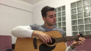 Tuna Kiremitçi & Sena Şener - Birden Geldin Aklıma Gitar Cover