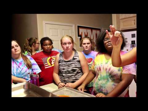 Weight control teen summer camp