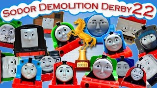 Sodor Demolition Derby 22 | Thomas and Friends Trackmaster | Last Engine Standing