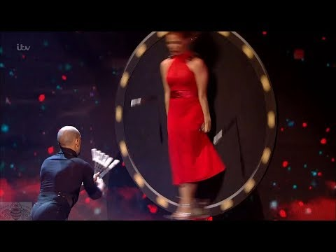 Britain's Got Talent 2017 Live Semi-Finals Tyrone & Mina Knife Throwing Full S11E08
