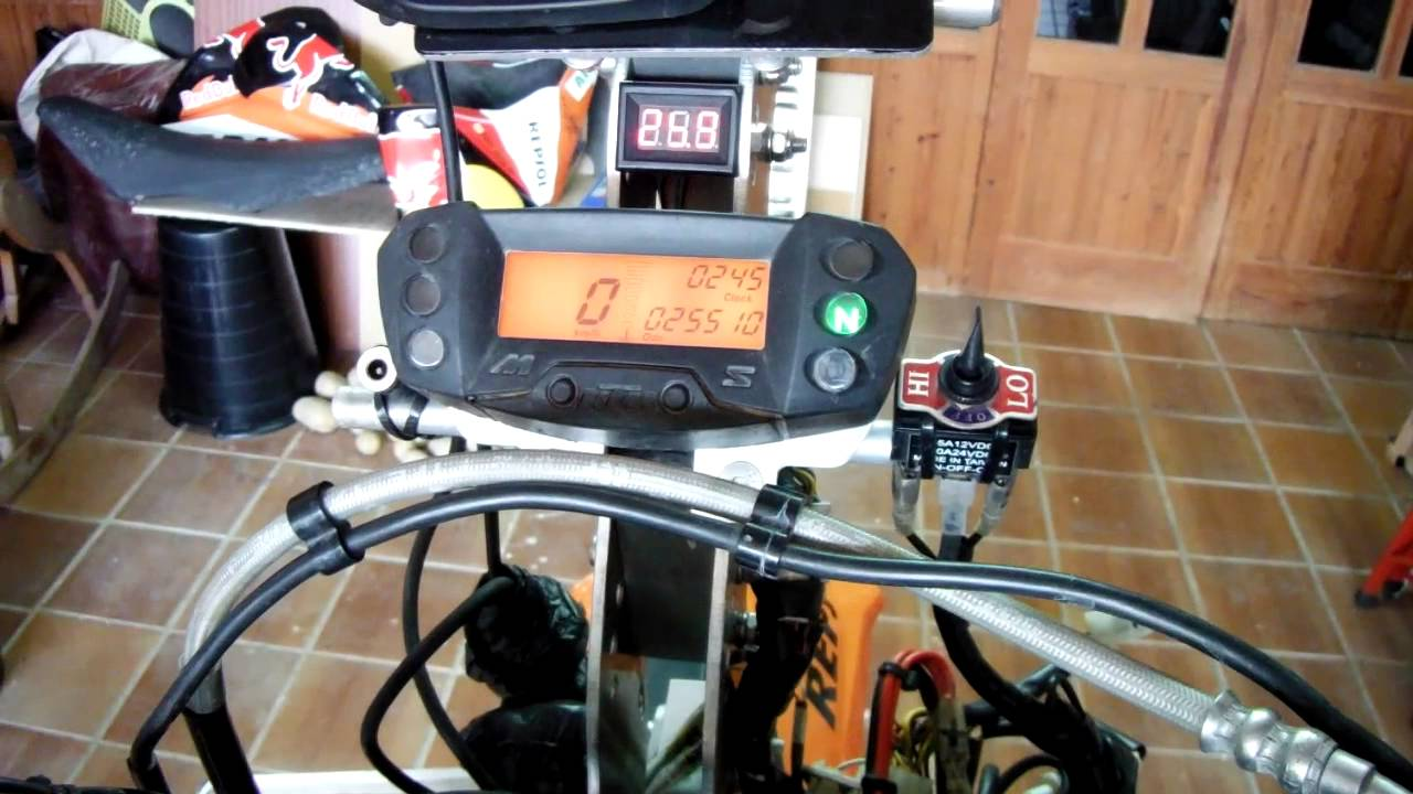 2009 690 Enduro R Speedometer To One With Tach