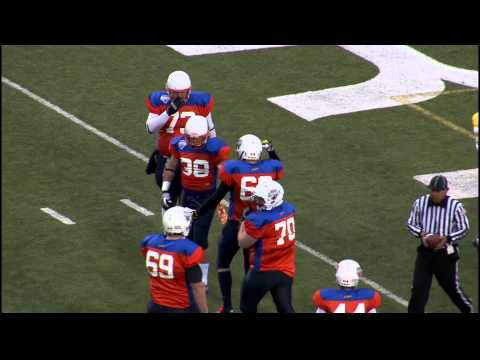 FBU International Game Highlights British Columbia vs. European Union