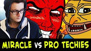 So much HATE — Techies SPAMMER vs Miracle Anti-Mage