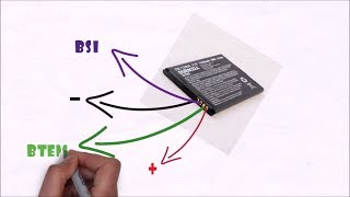Why your mobile phone battery have more than 2 terminals?