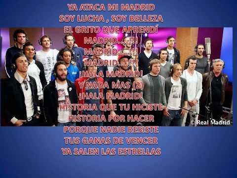 Canción de la Décima Real Madrid (Letra)