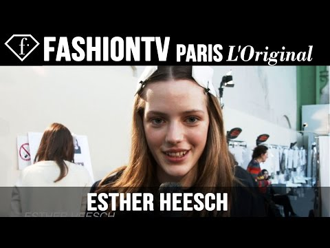 Esther Heesch: My Look Today | Model Talk | Fashiontv video