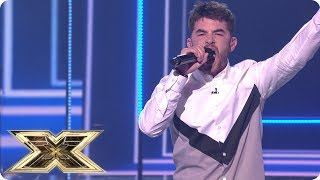 Anthony Russell sings Livin' On A Prayer | Live Shows Week 6 | X Factor UK 2018