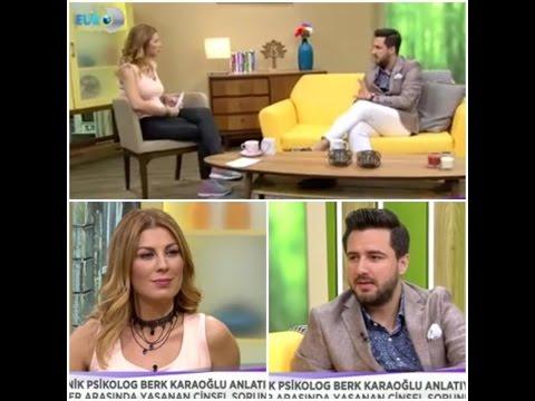 Kanal D - Erken Boşalma Tedavisi - Psikolog M. Berk KARAOĞLU