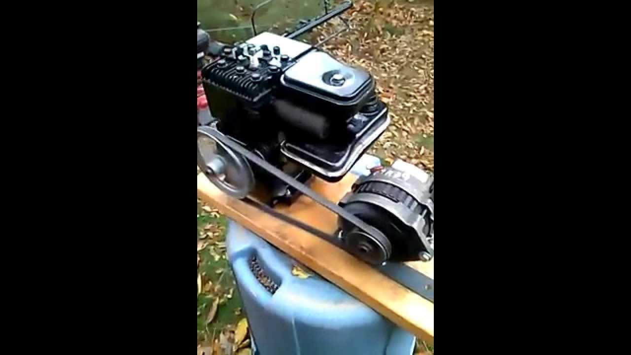 2hp Briggs Stratton Engine Alternator 12 Volt Dc Generator Gm Cs130 Alternator