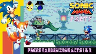 Let's Play Sonic Mania Pt. 7: 2nd Best Zone