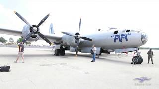 "CAF Boeing B-29 Superfortress - Kermit Co-Pilots ""FiFi"""