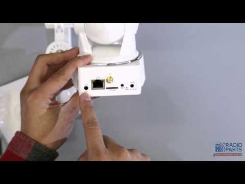 PT10QRW 720P WIRELESS IP CAMERA