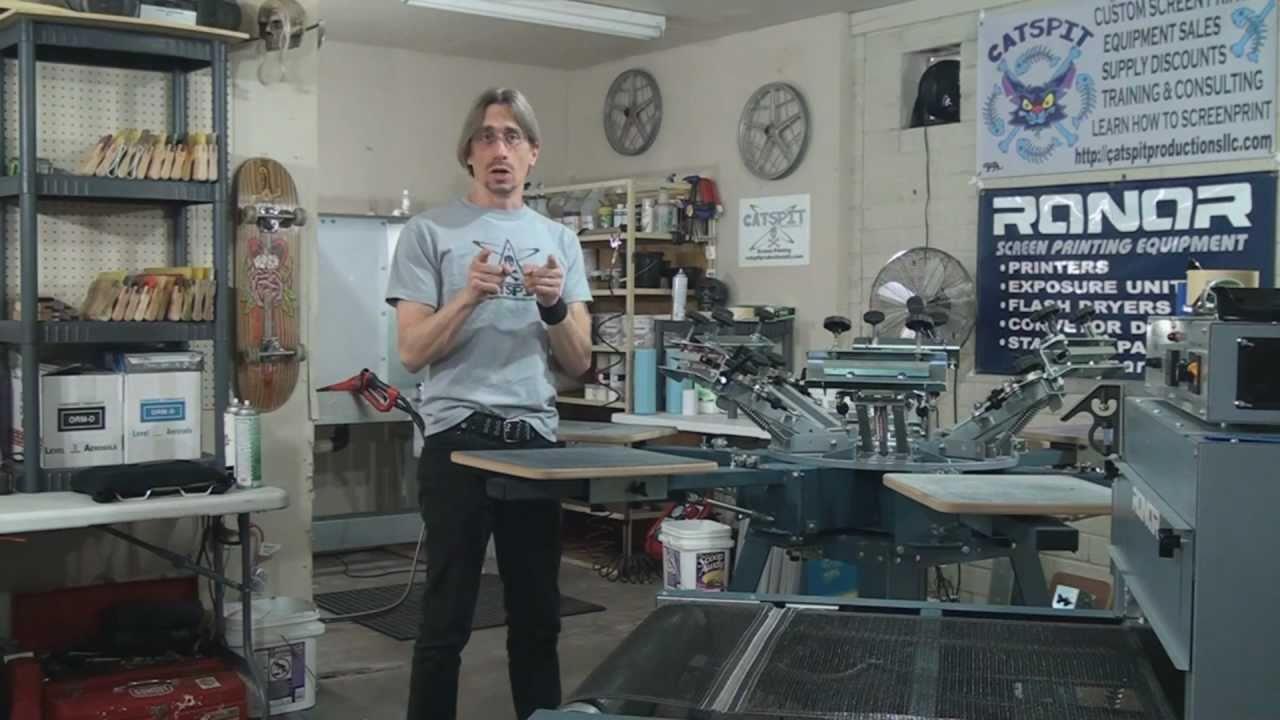 print shop machine