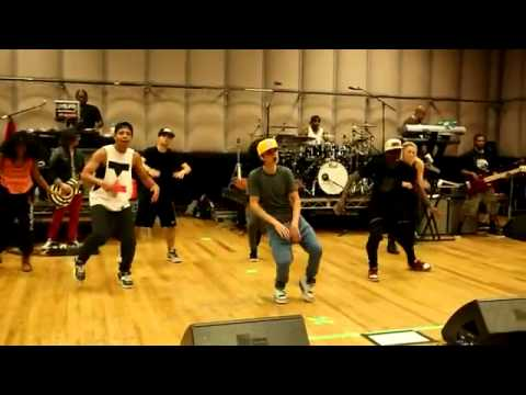 Making of Believe - Justin Bieber dance rehearsals EXCLUSIVE! Music Videos