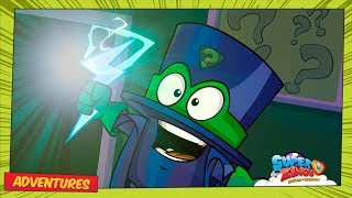 SuperZings Cartoons 13, 14 ⚡ The Mysterious Robbery of the Kazoom PART I & II ⚡  ⚡ Rivals Of Kaboom