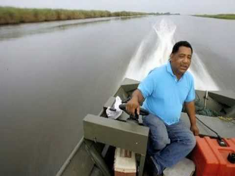 BP DISASTER & BIG OIL TEACH IN(3 of 5): Byron Encalade, Lousiana Oister Association