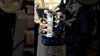 Запуск двигателя Yanmar 4TN82L - 07914