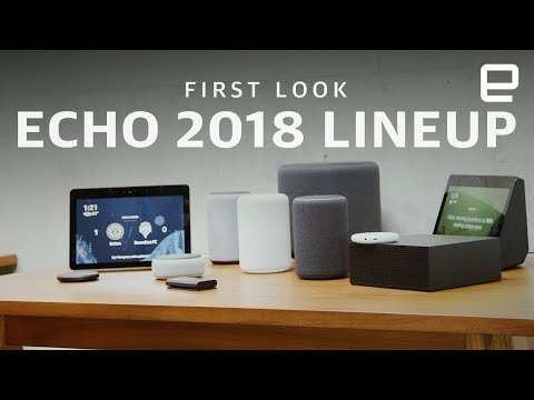 First Look at all the new Amazon Echos of 2018